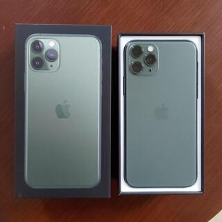 Apple - 美品iPhone11pro 256GB ミッドナイトグリーン 12 13