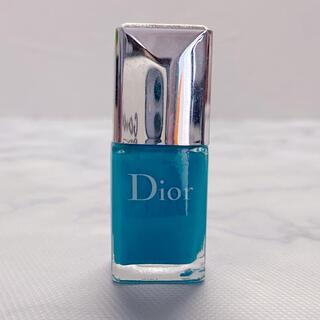 クリスチャンディオール(Christian Dior)の美品 Dior ディオール ヴェルニ ネイル 795  ブルー(マニキュア)