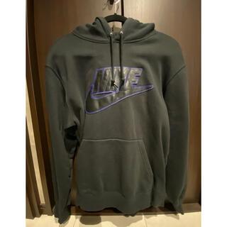 Supreme - Leather Applique Hooded Sweatshirt