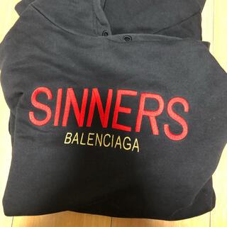 Balenciaga - balenciaga sinnersパーカー