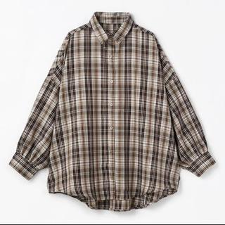 しまむら - しまむら nozomi チェックBIGシャツ