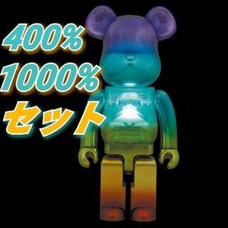 MEDICOM TOY - 【400% 1000% セット】BE@RBRICK U.F.O.