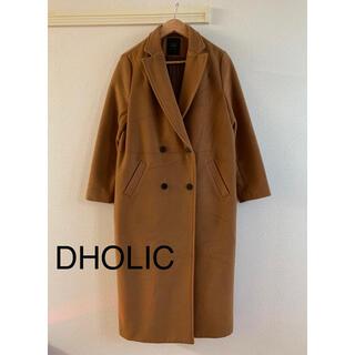 ディーホリック(dholic)のDHOLIC ダブルボタンロングチェスターコート(チェスターコート)