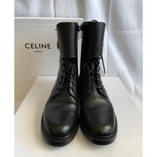 セリーヌ(celine)のCELINE 19AW レンジャーブーツ 37(ブーツ)