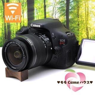 Canon - キヤノン Kiss X5☆液晶画面が動く一眼レフ♪スマホ転送OK☆2048