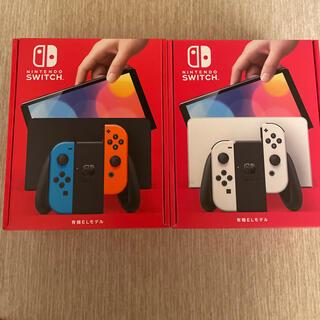 Nintendo Switch - Nintendo Switch 有機ELモデル ホワイト+ネオン2台