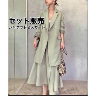Ameri VINTAGE - 【 AMERI 】定価3万7000円 ジャケット&スカート(サスペンダーなし)