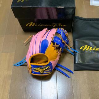MIZUNO - ミズノプロ 坂本モデル オーダーグローブ 湯揉み型付け済 美品