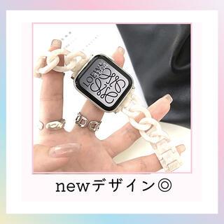アップルウォッチ ベルト 韓国 オルチャン 人気 AppleWatchバンド(その他)