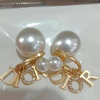 Dior - Dior パール ピアス ゴールド ディオール  ピアス