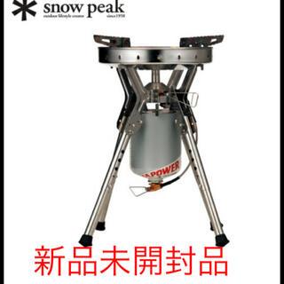 Snow Peak - 【新品】スノーピーク バーナー ギガパワーLIストーブ 剛炎 GS-1000