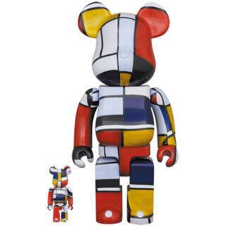 MEDICOM TOY - ベアブリック 100% 400% Piet Mondrianまぼろしのパレード