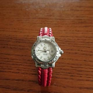 タグホイヤー(TAG Heuer)のレディース タグホイヤー レザーベルト アナログ時計(腕時計)