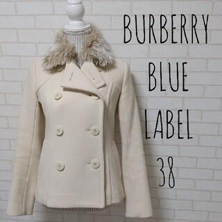 バーバリーブルーレーベル(BURBERRY BLUE LABEL)のBURBERRY BLUE LABELショートコート ハーフ ウール(トレンチコート)