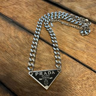 PRADA - プラダ チェーン ネックレス ノベルティ