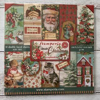【新品】スタンペリア 6インチパッド(Classic Christmas)