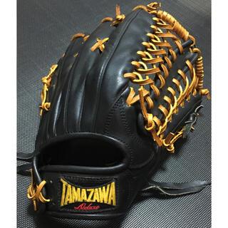 Tamazawa - TAMAZAWA タマザワ 玉澤 DELUXE THE PRO硬式外野用グローブ