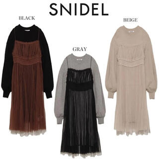 snidel - SNIDEL snidel スナイデル ワンピース