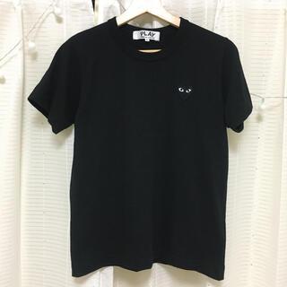 COMME des GARCONS - COMME des GARCONSハートTシャツ ブラック