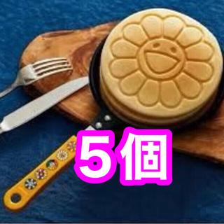 宝島社 - 【5個セット】smart 12月号 付録のみ IH対応 お花パンケーキパン