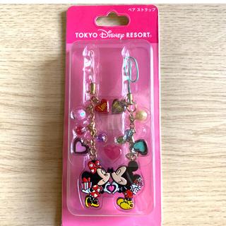 Disney - 【新品】ディズニーランド ミッキー、ミニー ペアストラップ2個入り