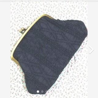 フェリシモ(FELISSIMO)の繊細レース 薄型 がま口 財布 ポーチ(ポーチ)