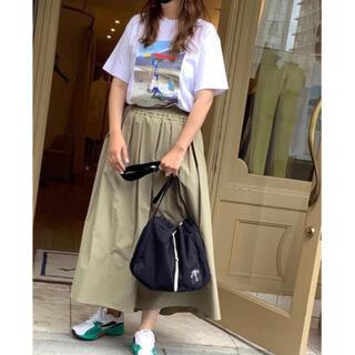 ドゥロワー(Drawer)の【極美品】araara タックフレアスカート(ロングスカート)