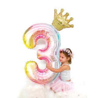 【32インチ】BIG数字バルーン バースデー 飾り誕生日   風船