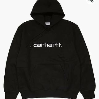carhartt -  CARHARTTカーハートパーカー メンズ  carhartt ロゴ 裏起毛