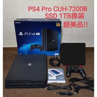 SONY PlayStation4 Pro CUH-7200BB01 1TB