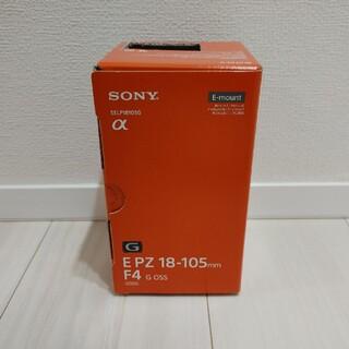 SONY - 新品未使用 E PZ 18-105mm F4 G OSS SELP18105G