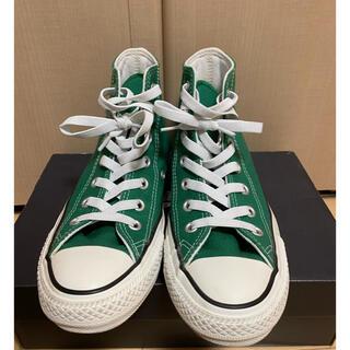 CONVERSE - ハイカット コンバース グリーン 緑 converse green