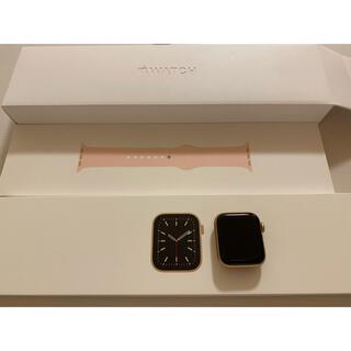 Apple Watch - Applewatch Series 6 40mm ゴールドアルミニウム