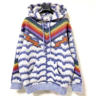 セリーヌ(celine)の国内正規 21SS 極美 L セリーヌ  ブラッシュド モヘア フード セーター(ニット/セーター)