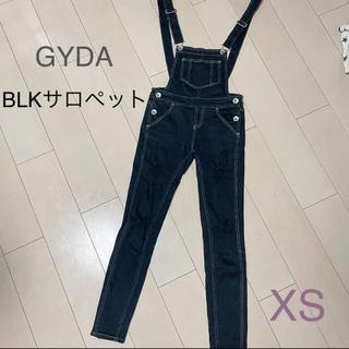 GYDA - GYDA サロペット ブラック XS パンツ