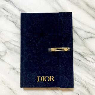 ディオール(Dior)のディオール 2021ホリデー クリスマスコフレ限定 ノベルティ ノート(ノート/メモ帳/ふせん)