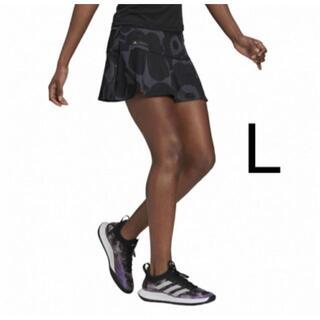 marimekko - アディダス レディース テニス スコート  Lサイズ ブラック マリメッココラボ