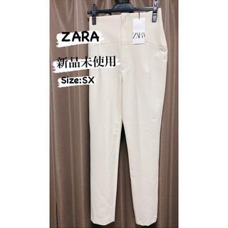 ZARA - ZARA ハイウエストテーパードパンツ