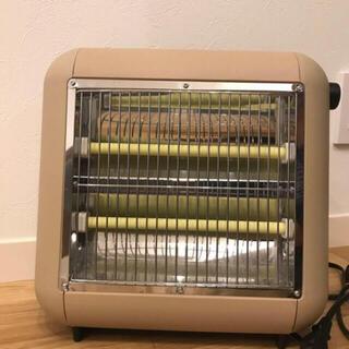 プラスマイナスゼロ(±0)の±0プラスマイナスゼロ Electric heater ベージュブラウン 超美品(電気ヒーター)