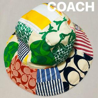 COACH - コーチ COACH カラフル 帽子 ハット ★希少★