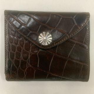 RRL - 【RRL】 クロコダイル エンボスド レザー ウォレット 財布