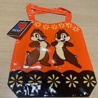 Disney - 【新品】ミッキーマウス、チップとデール ビニールトートバッグ2点セット