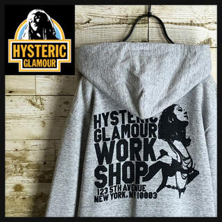 HYSTERIC GLAMOUR - hystericglamour ヒステリックグラマー パーカー 両面ヒスロゴ美品