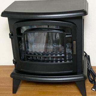 ニトリ - ニトリ 暖炉型ファンヒーター ブラック 2019年製 BK BLT-999B-8