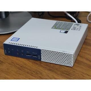 NEC デスクトップPC i5-7500T メモリ8GB SSD250GB