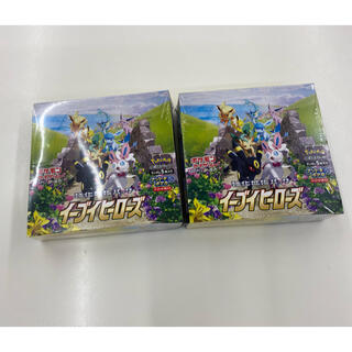 ポケモン - ポケモンカード イーブイヒーローズ 2box