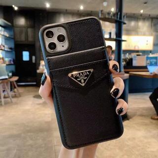 iPhone - プラダiPhone13promaxケース12Proカードスタンド付きケース