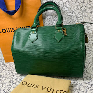 LOUIS VUITTON - 美品♡ルイヴィトン エピ グリーン♡ハンドバッグ
