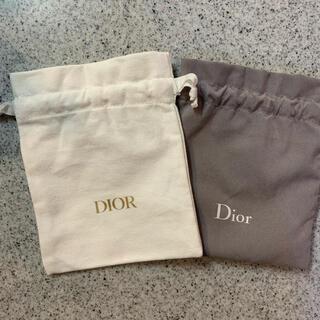 Dior - 最新 Dior ディオール 巾着 ノベルティ ポーチ 巾着袋 化粧ポーチ
