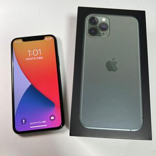 iPhone - 美品 iPhone 11 Pro 256GB ミッドナイトグリーン SIMフリー